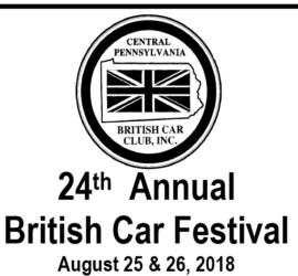 24th Annual British Car Festival
